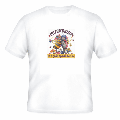 Country Decorative Friendship is a good spot to bee in bee lady bug tshirt shirt