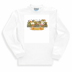 Country Decorative frogs polliwog place long sleeve tshirt sweatshirt