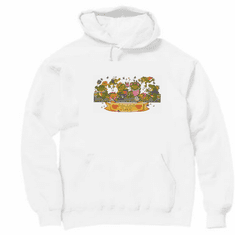 Country Decorative frogs polliwog place pullover hoodie hooded sweatshirt