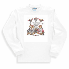 Country Decorative Good Friends are God's blessings long sleeve tshirt sweatshirt