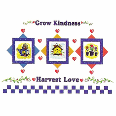 Country Decorative Grow kindness harvest love flowers flower pots tshirt shirt