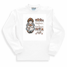 Country Decorative happiness is homemade country doll long sleeve tshirt sweatshirt