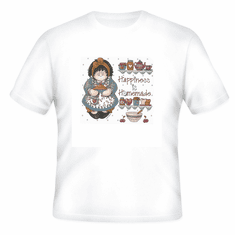 Country Decorative happiness is homemade country doll tshirt shirt