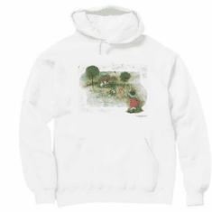 Country Decorative I'm just a bit old fashioned pullover hoodie hooded sweatshirt