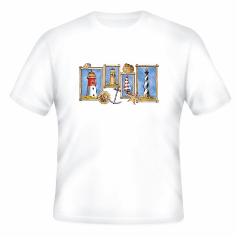 Country Decorative light houses lighthouses tshirt shirt