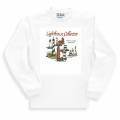 Country Decorative Lighthouse collector historic nostalgic adventurous long sleeve tshirt sweatshirt
