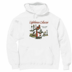 Country Decorative Lighthouse collector historic nostalgic adventurous pullover hoodie hooded sweatshirt