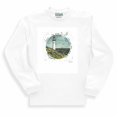 Country Decorative Lighthouse learn by going where you have never gone long sleeve tshirt sweatshirt