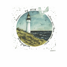 Country Decorative Lighthouse learn by going where you have never gone tshirt shirt