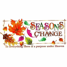Country Decorative Seasons change to Everything there is a purpose under Heaven fall leaves autumn tshirt shirt
