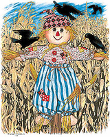 country decorative shirt fall autumn scarecrow scare crow harvest farm farming farmer