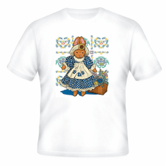 country decorative t-shirt bunny rabbit
