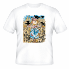 country decorative T-shirt fall autumn scarecrow scare crow harvest farm farming farmer