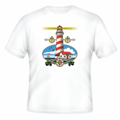 country decorative t-shirt LIGHTHOUSE light house