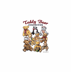 Country Decorative teddy bear collector tshirt shirt