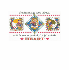 Country Decorative the best things in the world can't be seen or touched but felt with the heart tshirt shirt