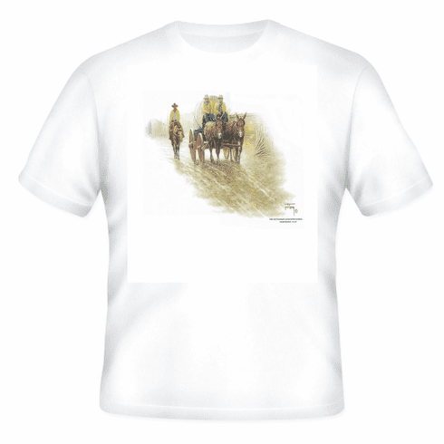 Country Western Covered Wagon Cowboy old west t-shirt shirt