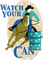 country western Horse Racing Rodeo Watch your Can t-shirt shirt