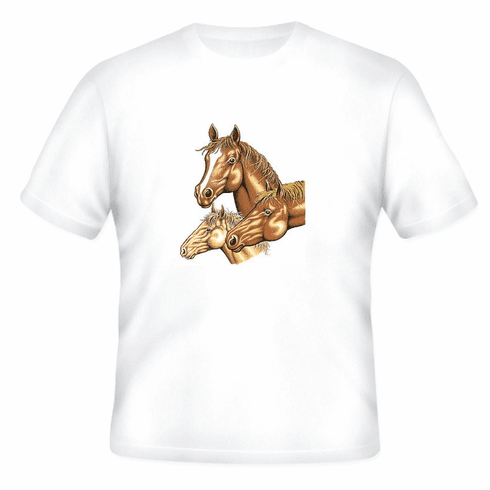 Country Western horses t-shirt shirt