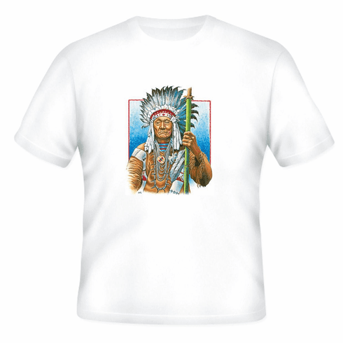 Country Western Native American Indian t-shirt shirt