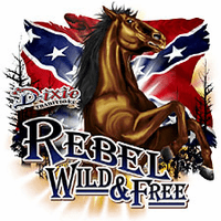 Country Western Rebel Wild and Free t-shirt shirt