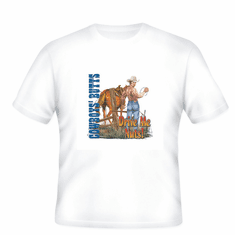 Country western t-shirt or pocket shirt: Cowboy butts drive me nuts!