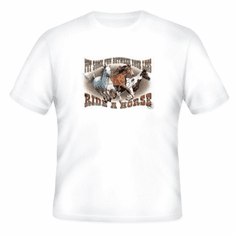 Country Western t-shirt: Put some fun between your legs Ride a horse