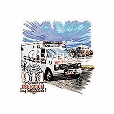 Emergency Medical Services EMS Paramedic Ambulance 911 Rescue shirt sayings