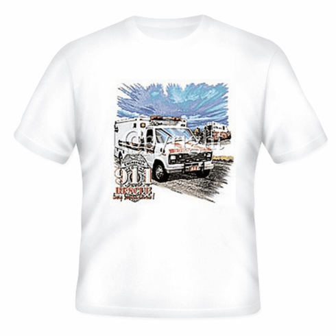Emergency Medical Services EMS Paramedic Ambulance 911 Rescue t-shirt shirt sayings