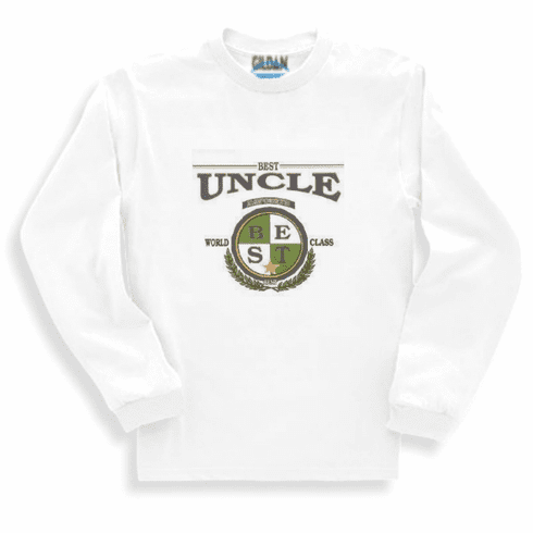 Family Best Uncle World Class long sleeve tshirt sweatshirt