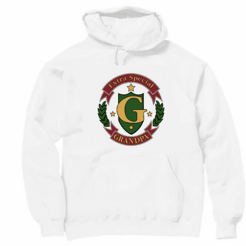 Family Grandfather Extra Special Grandpa pullover hoodie hooded sweatshirt