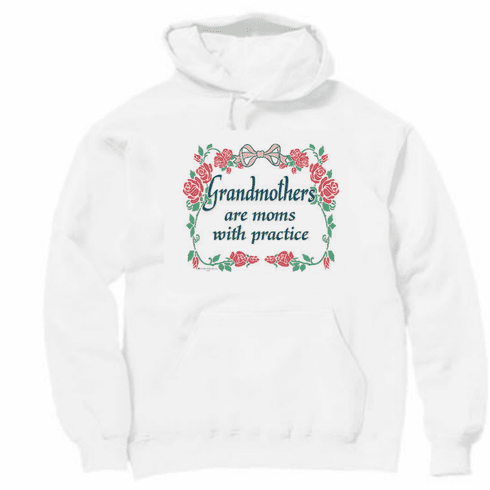 Family Grandma Grandmother Grandmothers are moms with practice pullover hoodie hooded sweatshirt