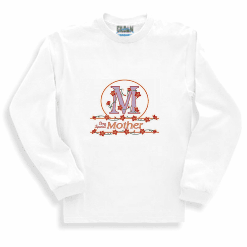 Family Mom Mommy Very Special Mother long sleeve tshirt sweatshirt