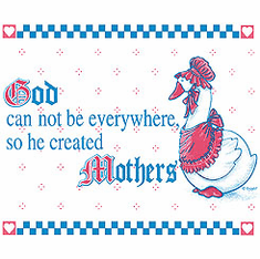 Family Mom Mother Mommy God can't be everywhere so he created mothers tshirt shirt