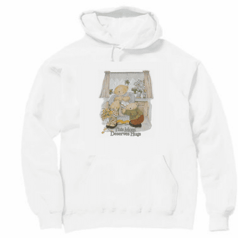 Family Mom Mother Mommy This mother deserves a hug teddy bear pullover hoodie hooded sweatshirt