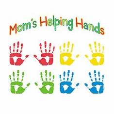 Family Mother Mommy Mom's helping hands tshirt shirt