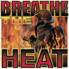 firefighter fireman shirt: Breathe the heat
