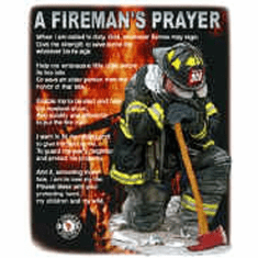 firefighter t-shirt:  A fireman's prayer