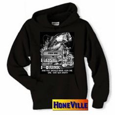 Fishing pullover hoodie hooded sweatshirt:  I fish therefore I drink and you should have seen the one that got away