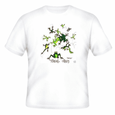 frog toad T-shirt:  Toadal Chaos