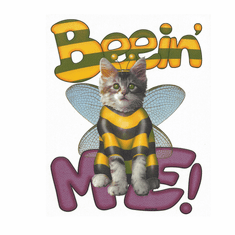 Funny novelty bee being BEEIN' ME