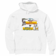 funny novelty pullover hooded hoodie sweatshirt It used to be wine women and song now it's beer the old lady and TV