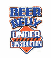 funny novelty shirt Beer belly under construction