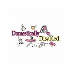 funny novelty shirt Domestically disabled