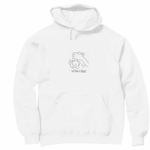 funny novelty shirt face You want it when pullover hooded hoodie sweatshirt