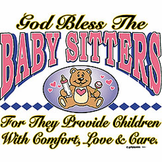 God Bless the BABY SITTERS shirt