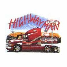 Highway Man t-shirt shirt semi driver trucker driving