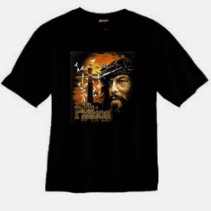 His passion for our sins Jesus Christ Cross christian T-shirt