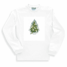 Holiday Christmas Angel Tree long sleeve t-shirt shirt sweatshirt