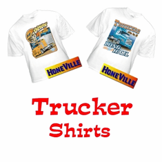 HoneVille's Semi-truck driver  t-shirts